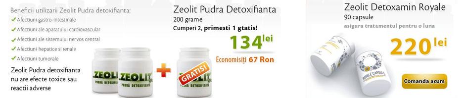 zeolit detoxifiere