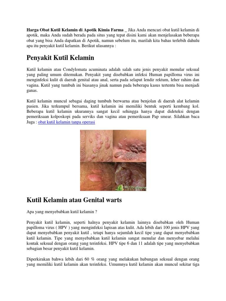 virus human papiloma dapat menyebabkan penyakit