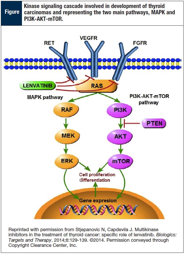 tyrosine kinase inhibitors papillary thyroid cancer