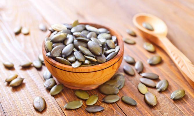 oxiuros semillas de calabaza