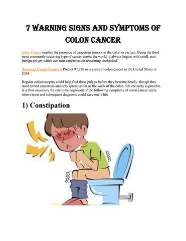 cancer colorectal constipation
