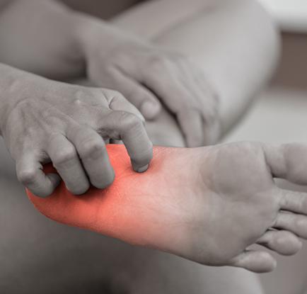 foot warts needle