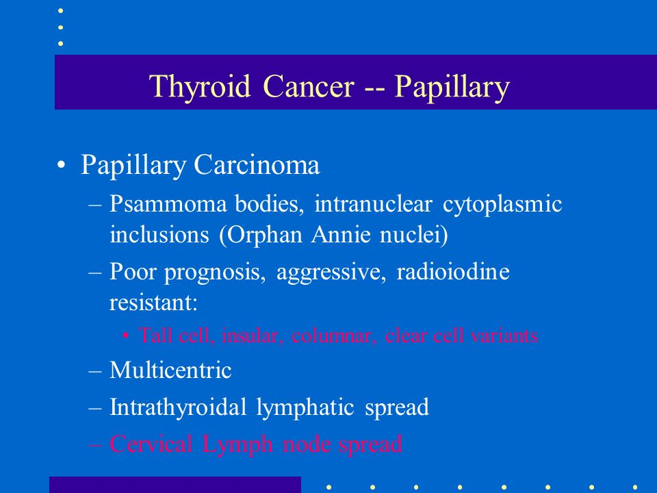 papillary thyroid cancer with lung metastasis prognosis