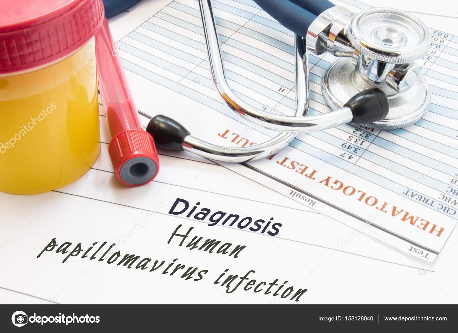 human papillomavirus infection diagnostic