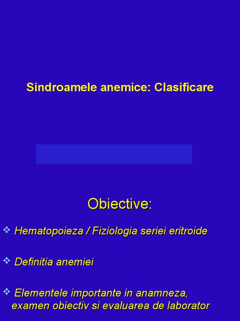 anemie normocitara normocroma hiporegenerativa cancer colon blog