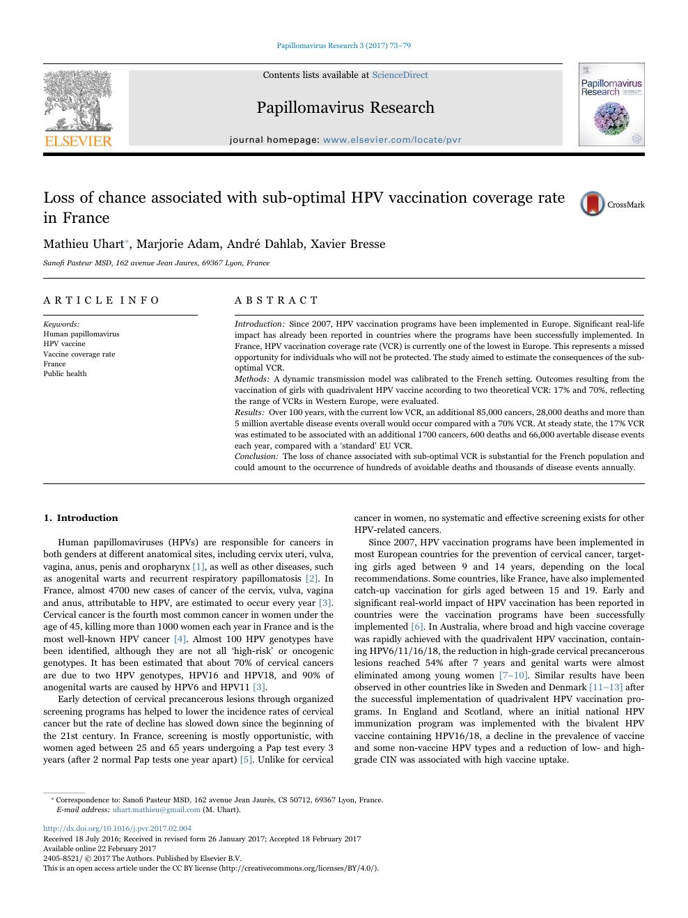 elimination papillomavirus humain