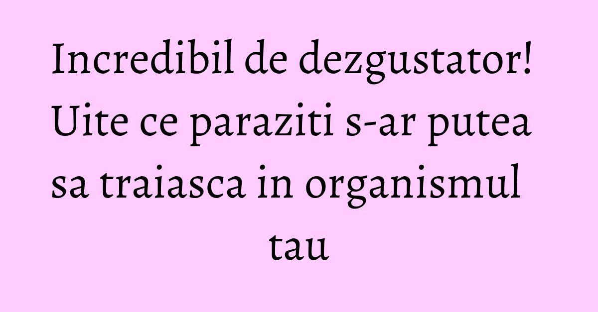 paraziti la ochi confluent and reticulated papillomatosis diagnose