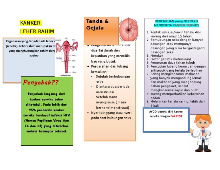 virus hpv pada kanker serviks
