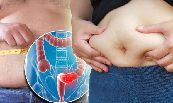 cancer causing abdominal swelling
