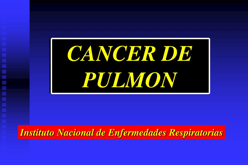 cancer pulmonar powerpoint