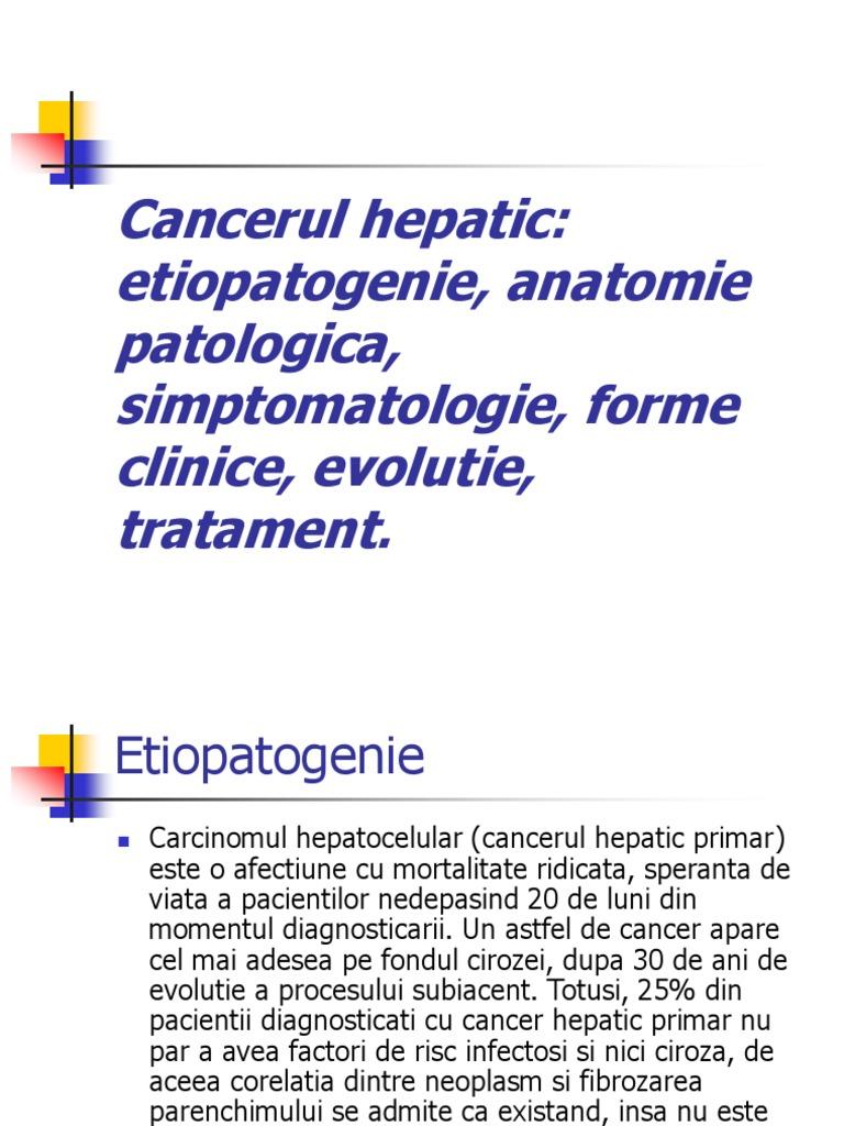 cancerul hepatocelular