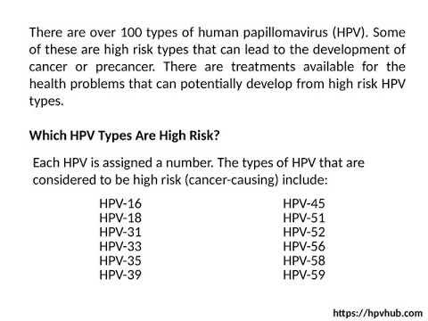 hpv treatment high risk