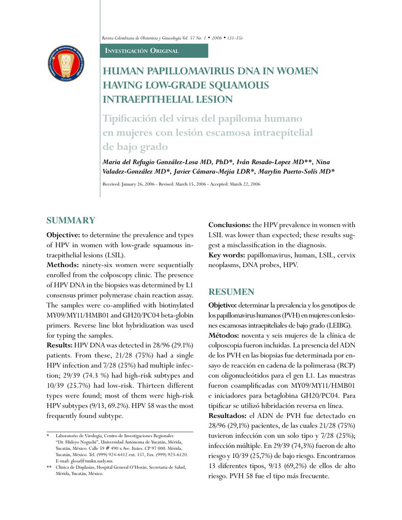 papilloma virus ginecologia papilloma test sintomi