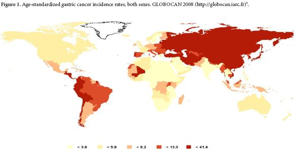 gastric cancer frequency