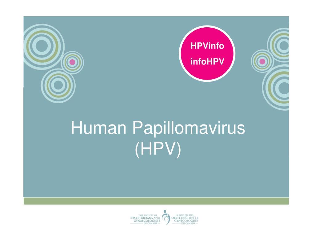 human papillomavirus ppt detoxifierea pancreasului natural