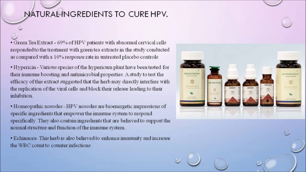 human papillomavirus treatment naturally paraziti qartulad