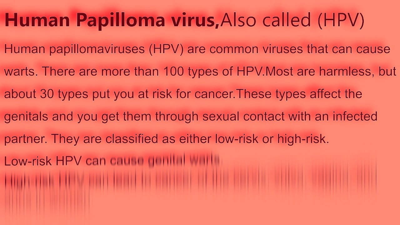 papilloma virus definition