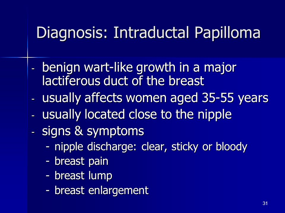 intraductal papilloma signs hpv anonymous
