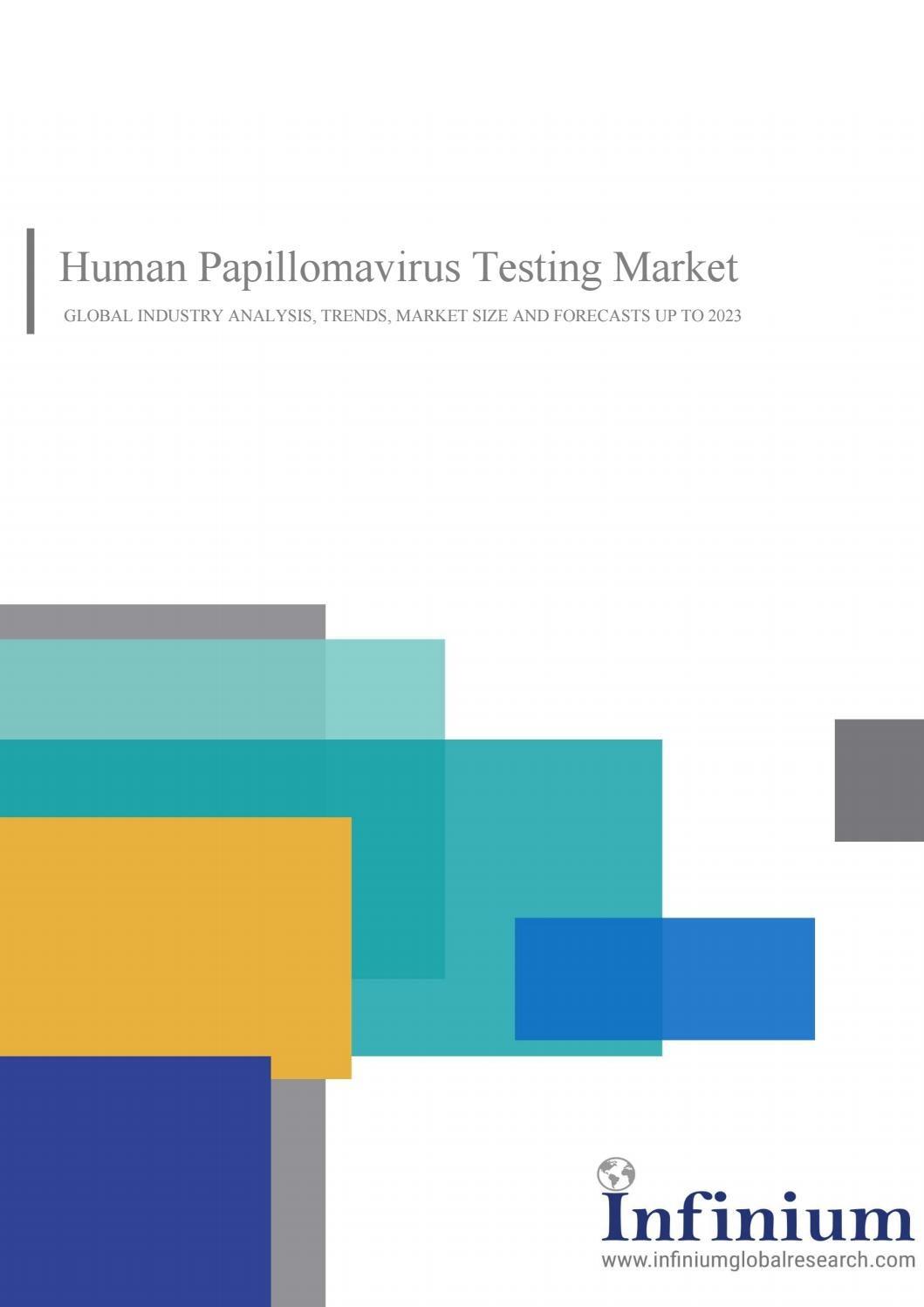 human papillomavirus testing market papiloma virus kod beba