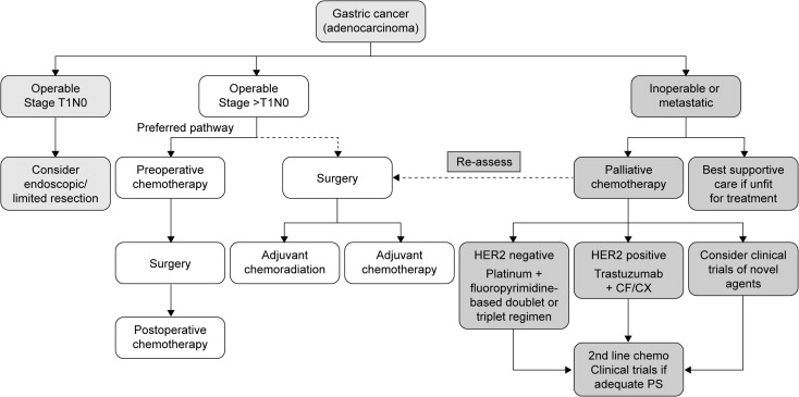 gastric cancer new treatments