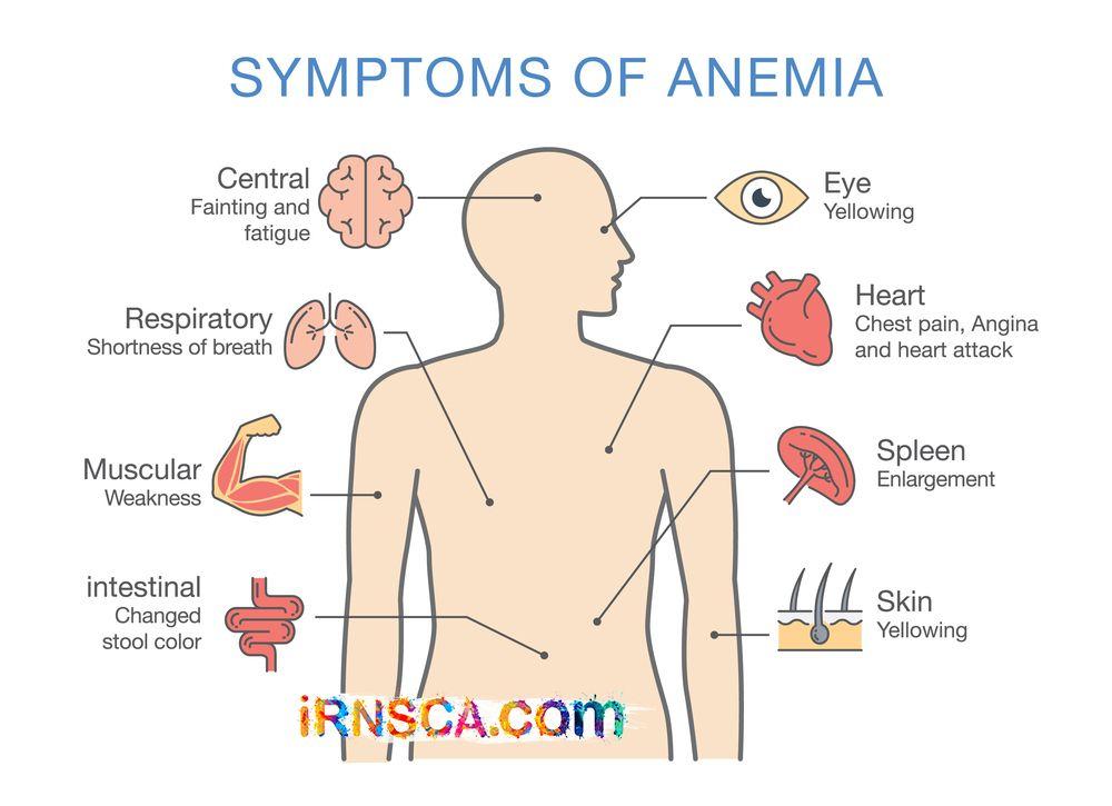 anemia weight gain)