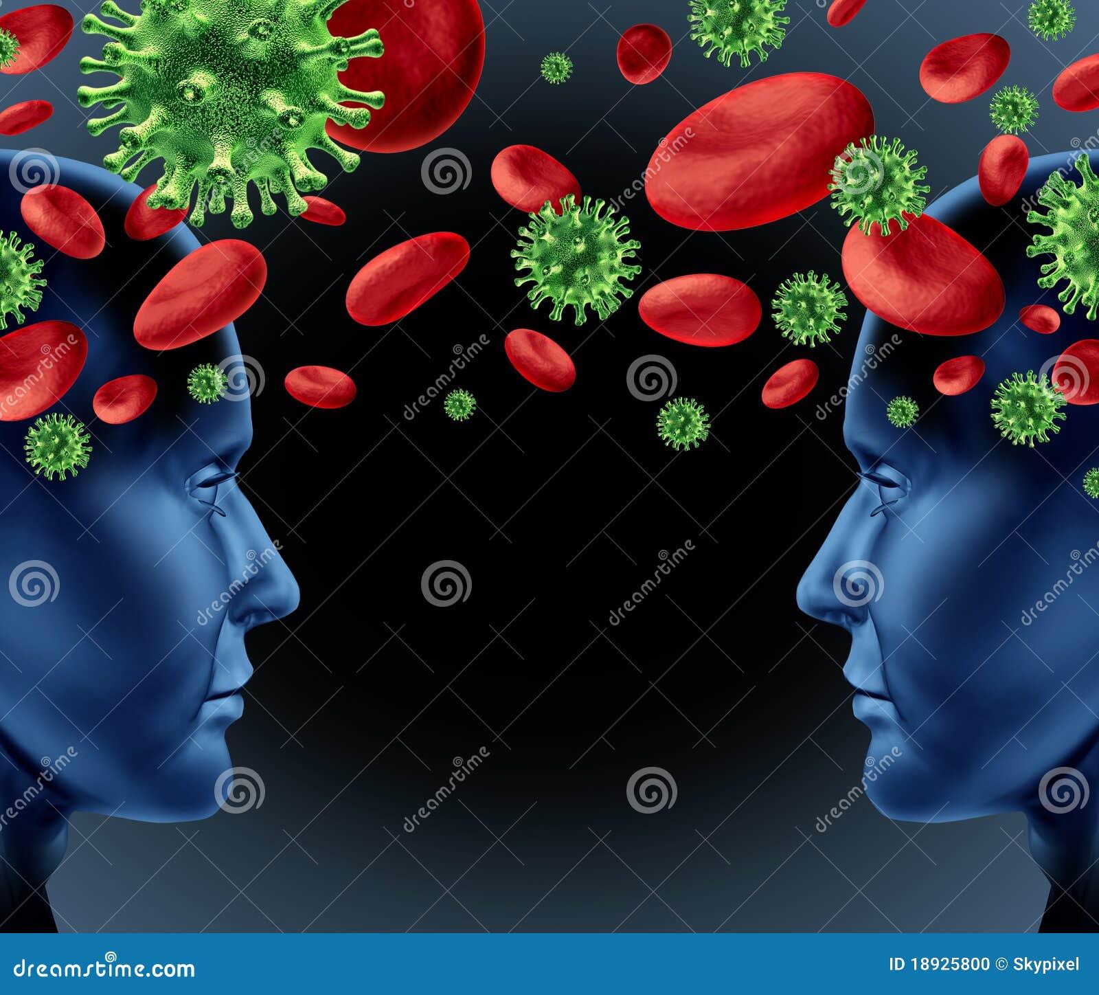 virusi contagiosi