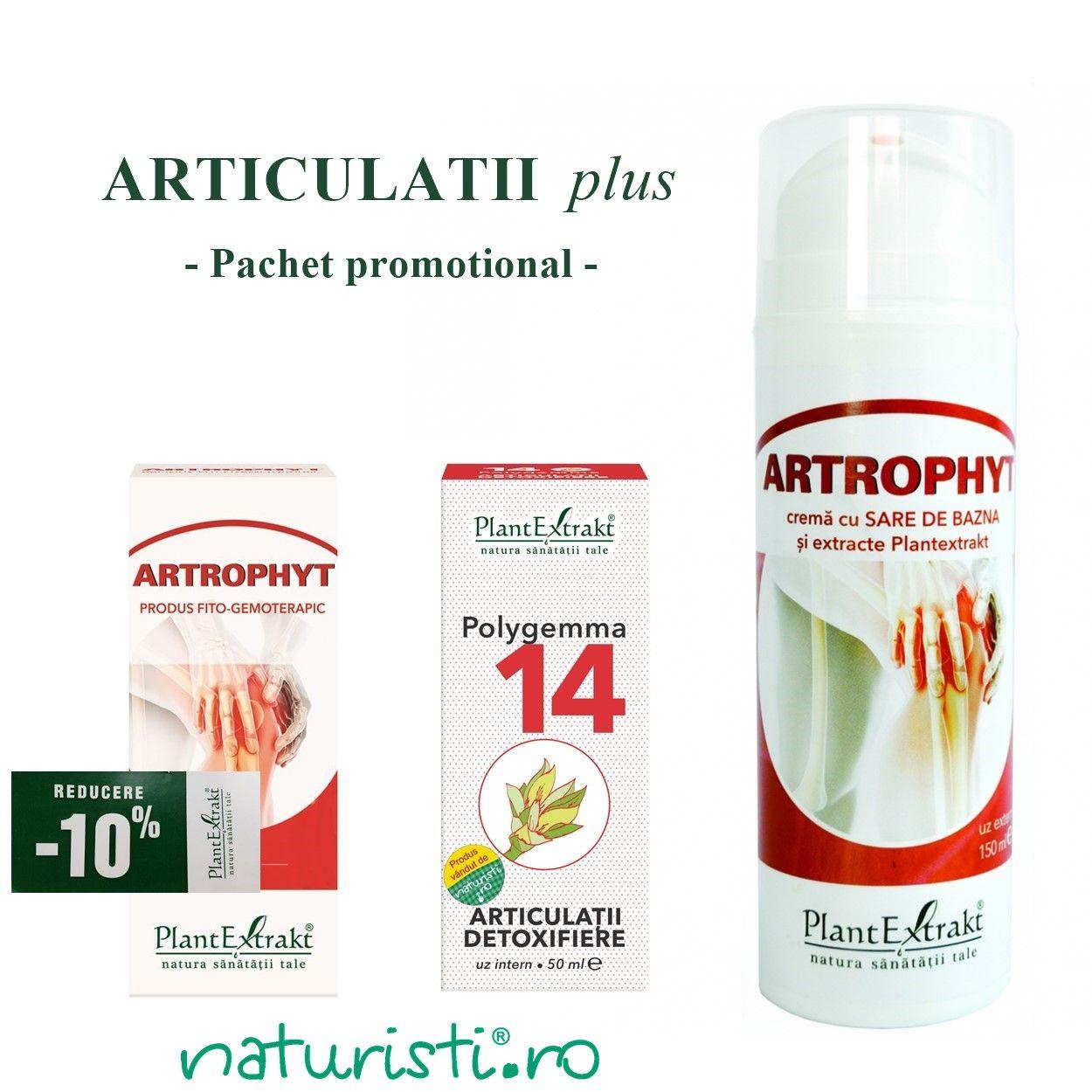 Artrophyt cremă cu sare bazna, 150ml, Plant Extract