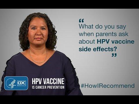 human papillomavirus immunization side effects papilloma sinus inverted