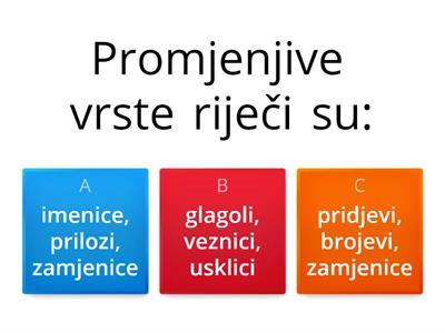 hrvatski jezik 5 razred padezi