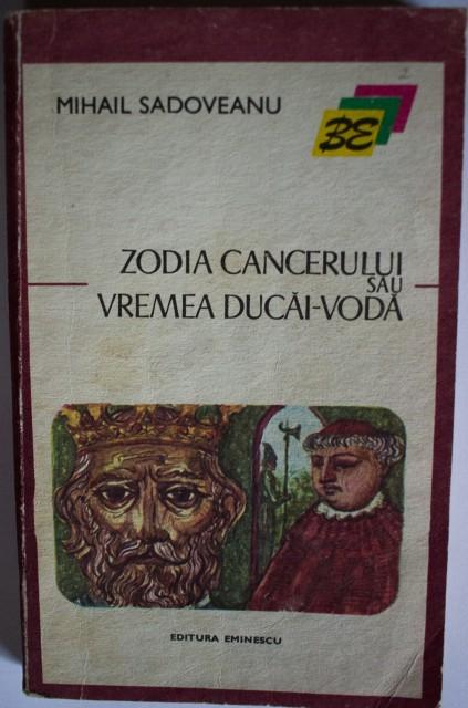 zodia cancerului sadoveanu