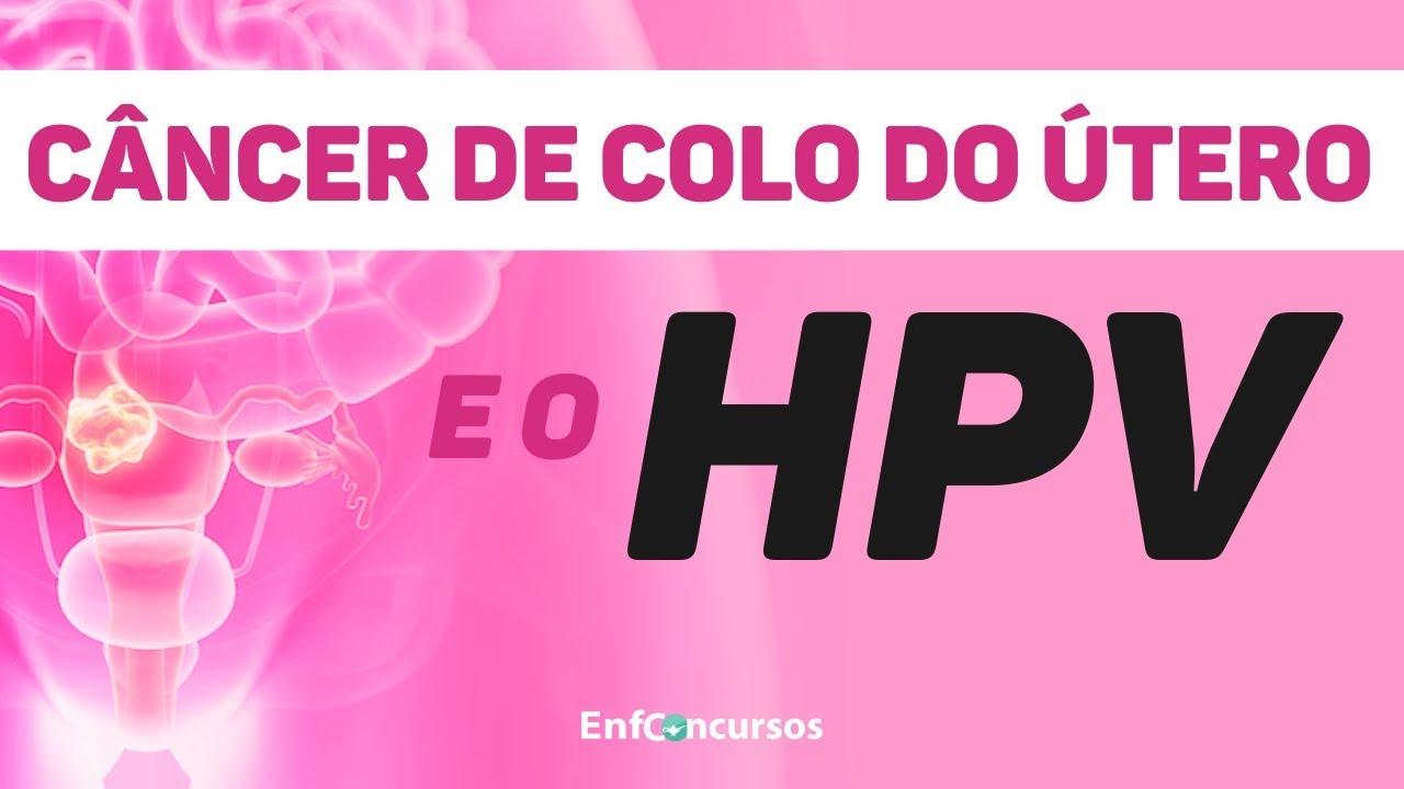hpv e cancer de colo