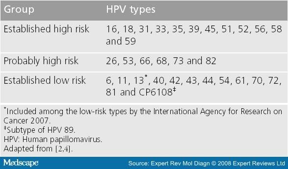 hpv high risk mrna