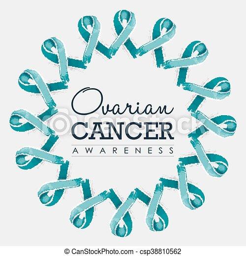 ovarian cancer ribbon images