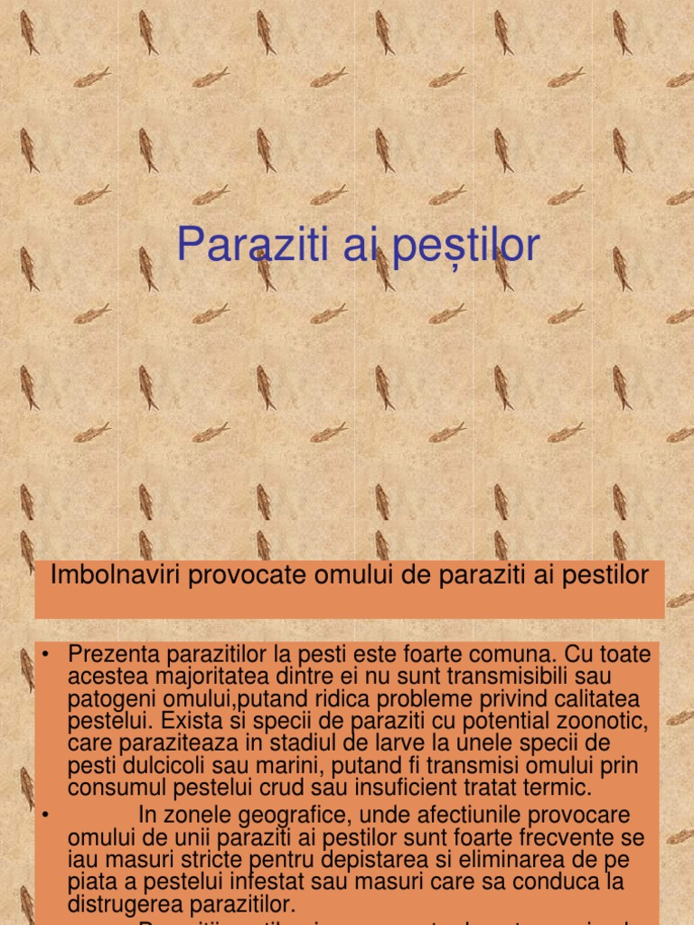 paraziti la peste