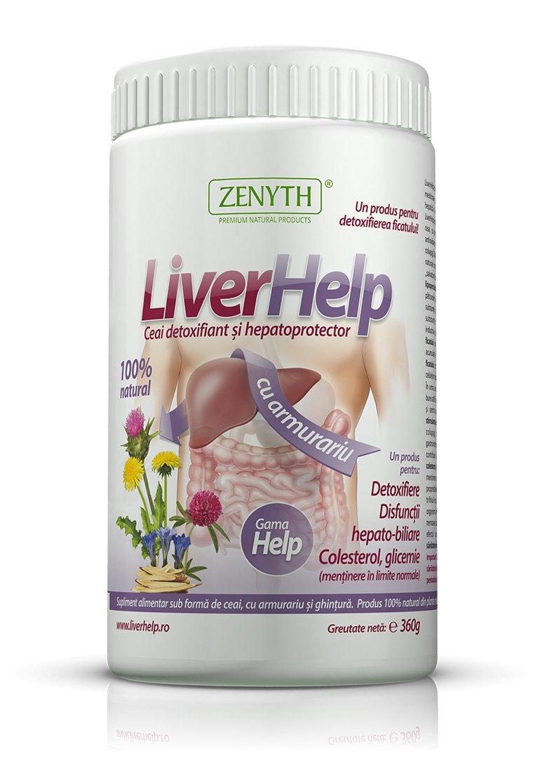 pastile detoxifiere ficat