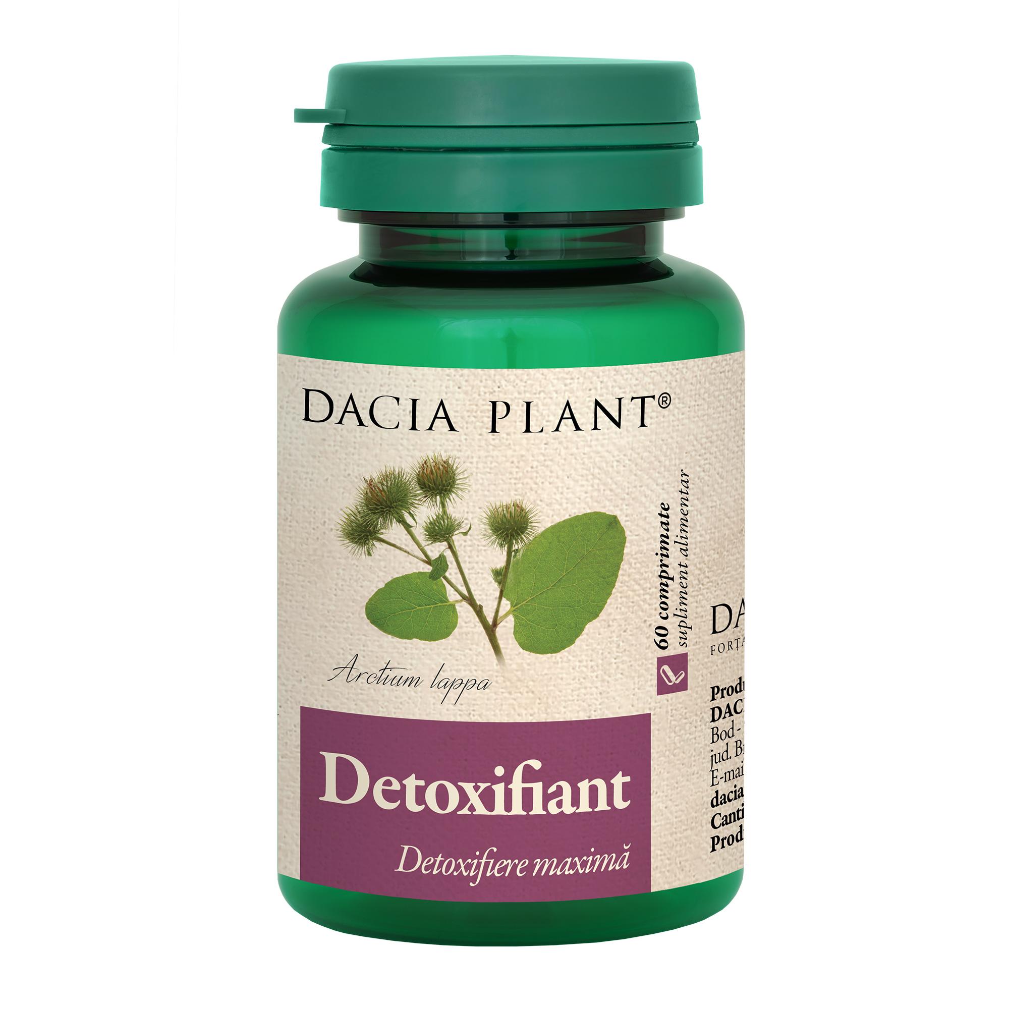 pastile pt detoxifiere